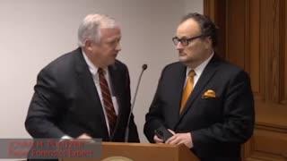 Jovan Pulitzer Interrupts Hearing - Fulton is online at voting precinct.