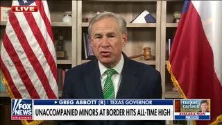 Texas Governor Greg Abbott Shares First Hand Account of Biden Border Crisis