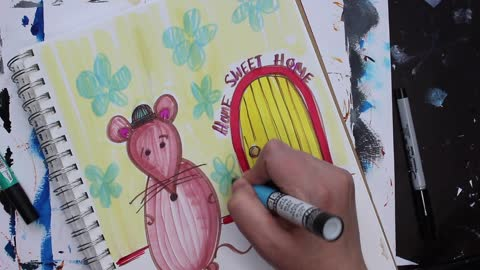 Doodle Mouse: Home Sweet Home