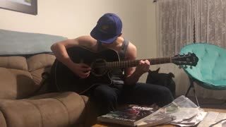 Guitar playin