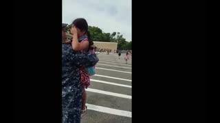 Military return home