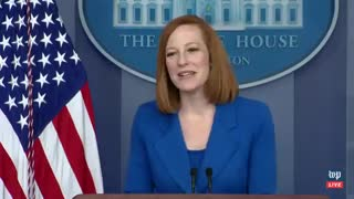 Reporter Throws RIDICULOUS Softball Question to Psaki - Internet ERUPTS In Response
