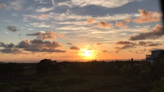 Incredible Golden Sunrise Time Lapse Video - Wow!