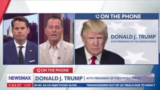 Full Interview with President Trump on Newsmax 6/25/2021