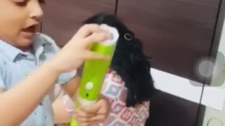 funny video with children