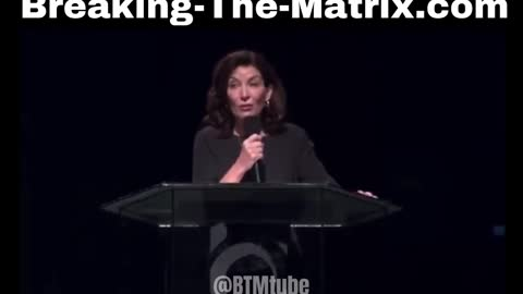 """NY Gov. Kathy Hochul totally delusional: """"The Vaccine is from God"""""""