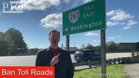 Remove Toll Roads in Virginia