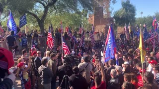 Arizona State Capital Rally November 28, 2020 Pt2