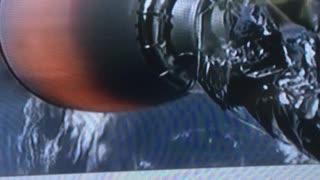 Fake X Falcon space launch