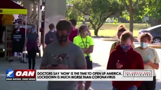 COVID-19 Pandemic Investigated | One America News Network (OAN)