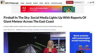 Meteor lights up sky over Pennsylvania, Ohio