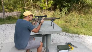 AR-10 Test Fire