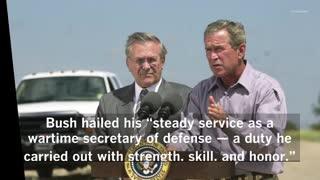 Two-time Defense Secretary Donald Rumsfeld dies at 88 #