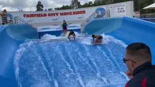Epic Artificial Surfing