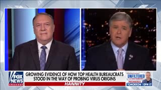 Pompeo: Enormous evidence COVID escaped from a lab