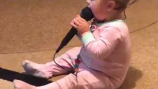 Singing Zoey