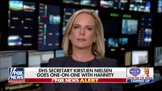 Homeland Security Secretary Kirstjen Nielsen Speaking On Hannity