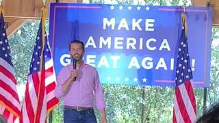Don Jr. Speaks at Trump for President Rally