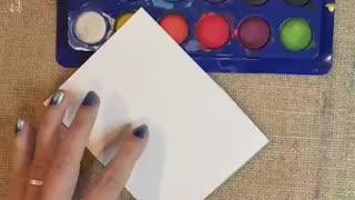 Christmas Garland DIY Card