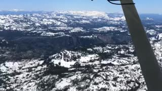 Flying a Piper Tripacer out of Truckee Tahoe