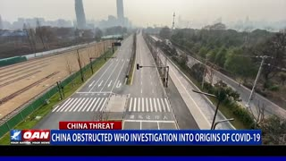 China obstructed who investigation into origins of COVID-19