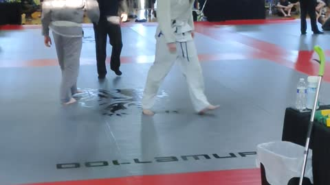 John Musha's 1st jiu-jitsu Tournament -1st Win