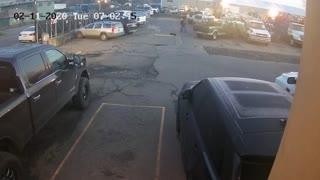 One Wheel Pint Skateboard Fail