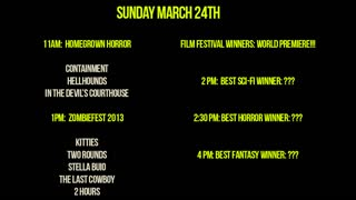 The Second Annual Mad Monster Party Film Festival Sizzle Reel