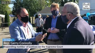 Senator Gerry Connolly is asked about expanding Supreme Court justice