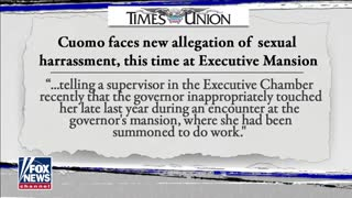 SIXTH Gov. Cuomo Accuser Comes Forward