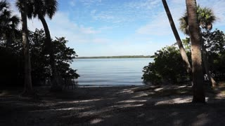 Boca Ciega Bay view from Abercrombie Park in St Petersburg Florida