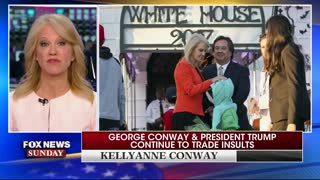 Chris Wallace asks Kellyanne Conway about her husband