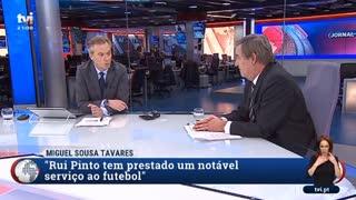 """Miguel Sousa Tavares sobre Rui Pinto: """"Querem silencia-lo"""""""