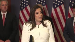 Rep Stefanik: President Trump is the leader of the Republican Party.