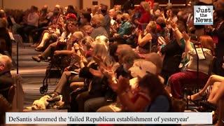 Florida Gov. DeSantis opens CPAC slamming 'failed Republican establishment of yesteryear'