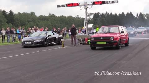 Worlds fastest VW Golf 2