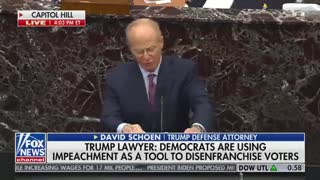 Trump Attorney Plays Video Compilation of Dems While They Have to Sit and Watch