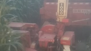 JD 8300 working hard this fall