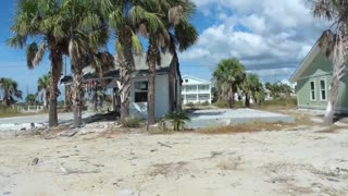 Mexico Beach Florida: 1 year after Hurricane Michael hit.