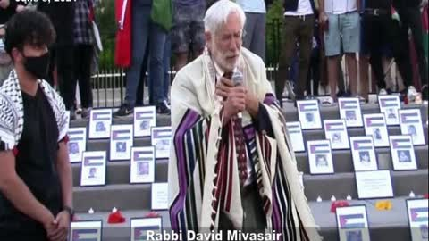 David Mivasair's Kaddish for dead Palestinians, including jihadists - full speech