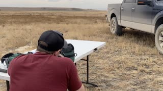 Silenced .270 Winchester at 500 Yards