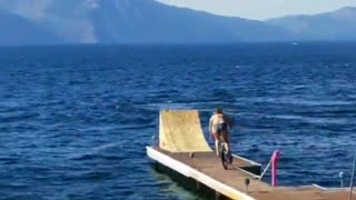 Epic fails: Woman crashes face first into bike ramp