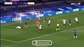Werner goal against Madrid