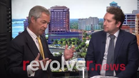 Darren Beattie Interviews Nigel Farage During His Tour Across America