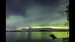 Nova forma aurora boreal