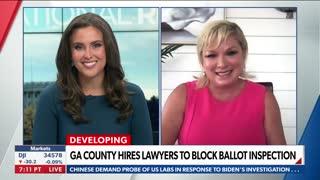 DeKalb GOP Chairman Marci McCarthy on NewsMax about Fulton Co. audit