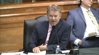 Rand Paul DESTROYS Fauci in Tense Exchange About China and COVID