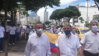 Avanza la Marcha del Silencio en Bucaramanga