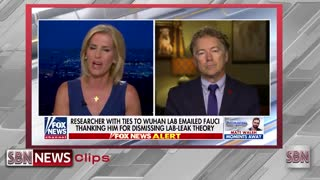 A Vindicated Rand Paul Decimates Fauci Over Emails - 1853