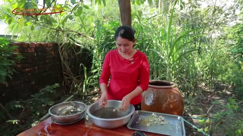 Blue Crab Soup Cooking - Cooking With Sros